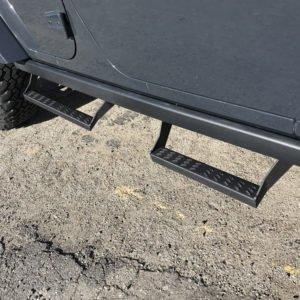 Allied Expedition Overland Gear Jeep Wrangler JK Rubicon Slide Steps