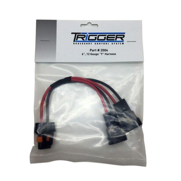 TRIGGER 12 Gauge Short Y Harness - 01